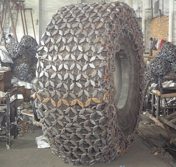 CAT 980 tyre protection chains 29.5R25,L5 ; SG-80-F