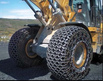 CAT 950 tyre protection chains 23.5R25,L5;SG-50-F