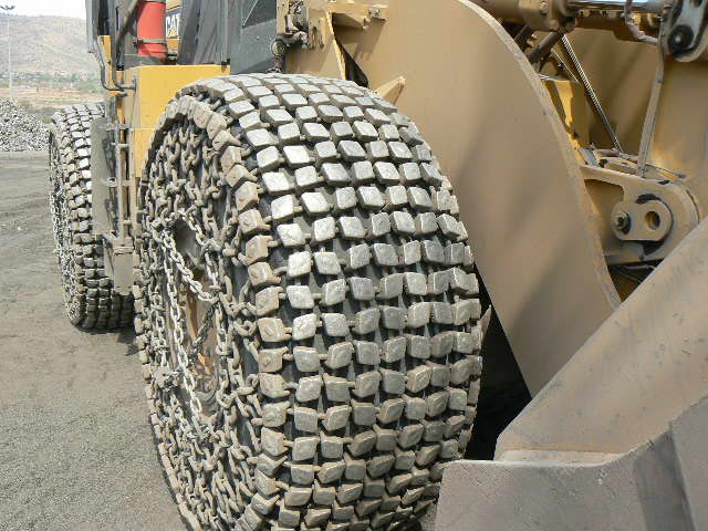 CAT 966 tyre protection chains 26.5R25;SGJM-60